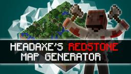 Headaxe's Redstone Map Generator Minecraft Map & Project