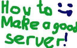 How to make a server Minecraft Blog