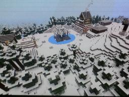 PS3 Hunger Games Winter Map Minecraft Map & Project