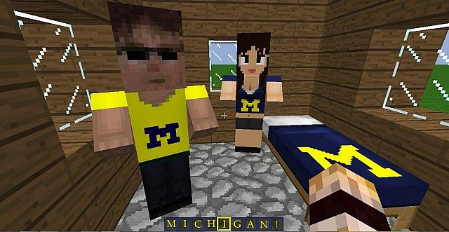 Villagers are U of M fans!