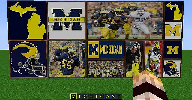 Decorate your house with Michigan posters!