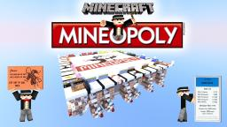 MONOPOLY IN MINECRAFT - MINEOPOLY (100% Full Automatic)  [Outdated :( ] Minecraft Project