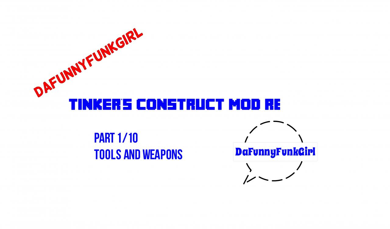 how to make weapons in tinkers construct