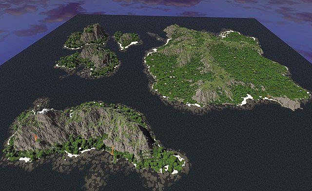 Forest Island 50 Sub Special By Tylertimoj Minecraft Project