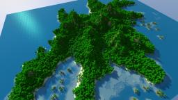 Realistic Jungle Island Minecraft Map & Project
