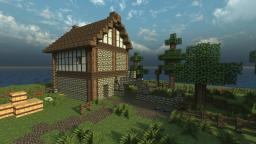 Stable Yard Minecraft Map & Project
