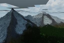Custom Landscape Terrain Map Minecraft Map & Project