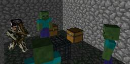 [Art] Zombie Dungeon Minecraft Blog Post
