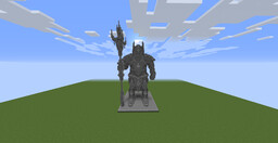 Guardian Statue by AdamsKg + Download Minecraft Map & Project