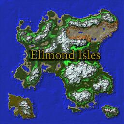 Ellmond Isles: 5K x 5K CUSTOM MAP Minecraft Map & Project