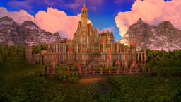 🏰Castle // The Castle of the lord 👑#2 Minecraft Map & Project