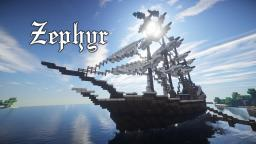 Zephyr - Sailing Ship [Classic] Minecraft Project