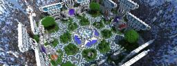 Heavens Court - MineVast Hub Minecraft Map & Project