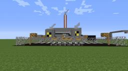 Nuclear Power Plant (REBOOTED) Minecraft Map & Project