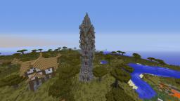 Cool Tower Minecraft Map & Project