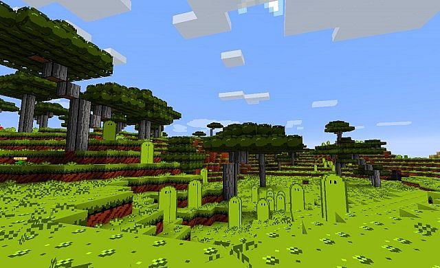 New Acacia trees and tallgrass!!