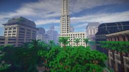 Witchport -A Beaux-Art styled city Minecraft Map & Project