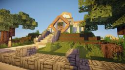|Quadro| modern home Minecraft Map & Project