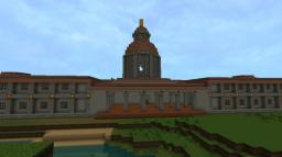 Brokenholde City Hall Minecraft Project