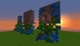 Seamless 2x3 Redstone Door Minecraft Map & Project