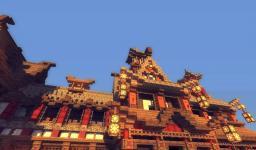 Japanese_temple [#1] Minecraft