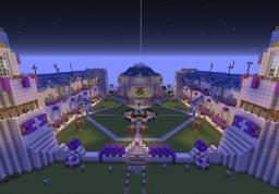 Castle at sunset adventure map (with Nick Fury) Minecraft Project