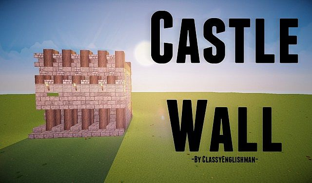 Meval | Meval Castle Wall [Schematic & World Save] Minecraft ... on