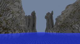 Argonath (LOTR) - statues of Anarion and Isildur by danielos125