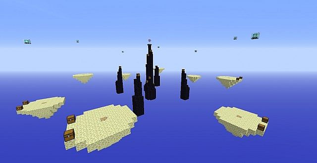 Skywars End Skywars Map For Servers Minecraft Project