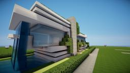 Small Modern House 2 Minecraft Map & Project