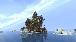 Miniature Lake-Town Minecraft Map & Project