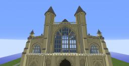 Winchester UK inspired Cathedral Minecraft Map & Project