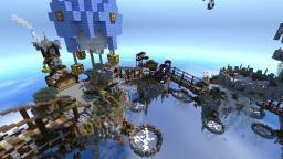 [Steampunk] VertexMC Network Hub [Commission] Minecraft Map & Project