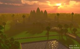 Vrah Vishnulok (Angkor Wat) Minecraft