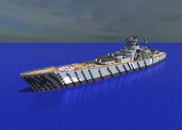 Battleship Bismarck [1:1 Scale WW2 Battleship!] Minecraft Project