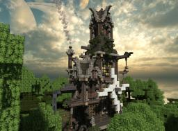 A Steampunk Valley - Build off - Ninaman - [DOWNLOAD] Minecraft Map & Project
