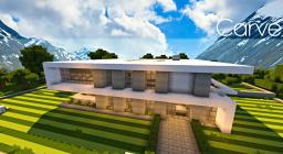 Carve | A modern home Minecraft Map & Project