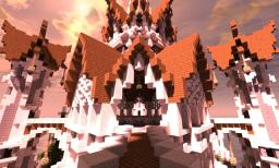 Temple Of Areathox || Heaven || 30 diamonds? 1000 views? || Pop real || Minecraft Map & Project