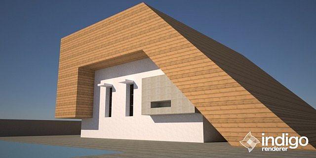 Edge Modern A Frame House Minecraft Project