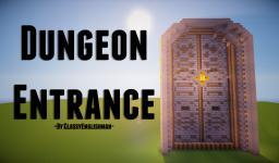 Medieval   Huge Dungeon Door [Schematic & World save] Minecraft Map & Project