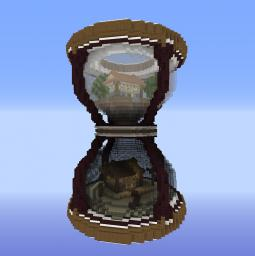 Hourglass of Ages - A Before and After Minecraft Project