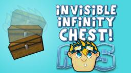 Secret Invisible Infinity Chest Glitch! Minecraft Map & Project