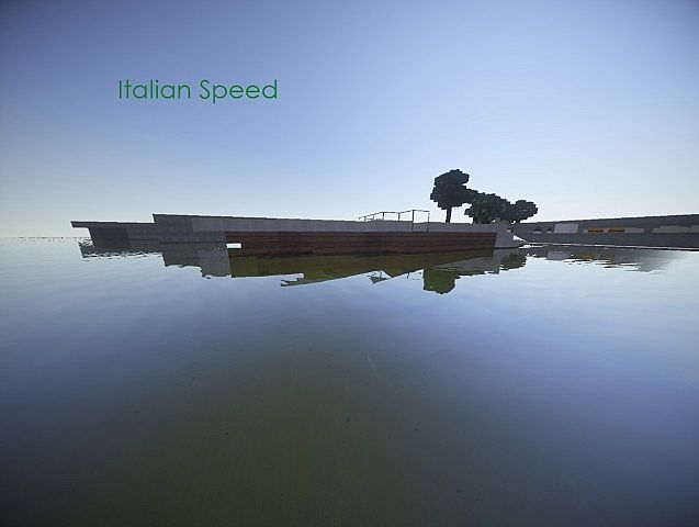 italian speed boat tcs minecraft project. Black Bedroom Furniture Sets. Home Design Ideas