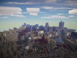 My Largest Survival Build(500x500) Minecraft Map & Project