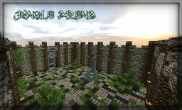 Jungle Arena (1vs1 pvp map) Minecraft
