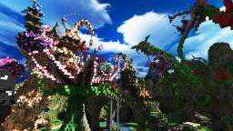 Athoria - A Fantasy Map Minecraft Project