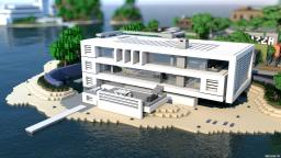 Contemporary Beach House | with JeterBro Minecraft