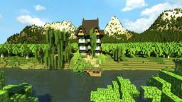 [MedievalHouse]- Riverside Home Minecraft Map & Project