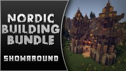 Nordic Building Bundle [19 Buildings!] Minecraft