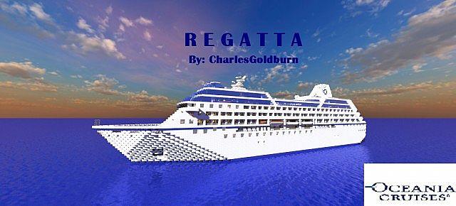 Regatta Real Cruise Ship Scale Replica Download Full - Oceania regatta cruise ship